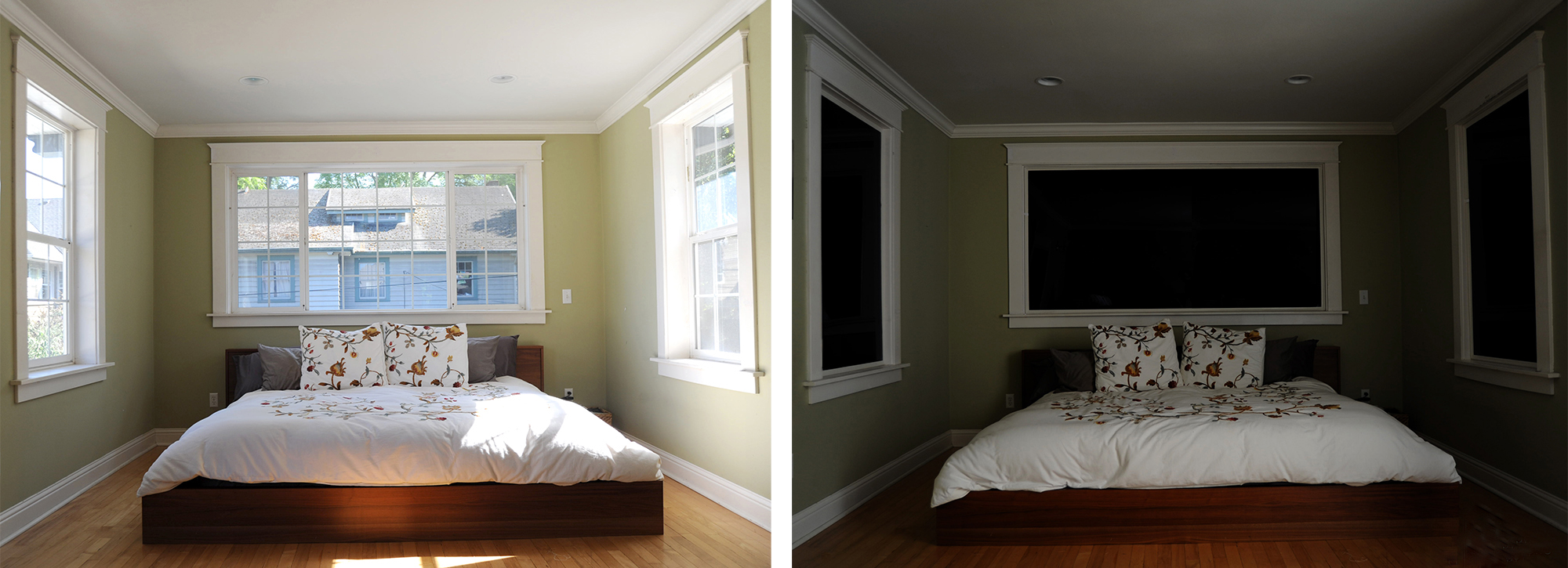 Room Darkening Vs. Blackout Shades