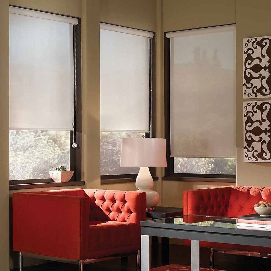 Can You See Through Interior Solar Shades?