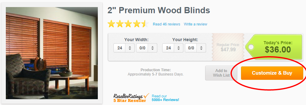 How to Order Custom Blinds with Blindster's Free Tool