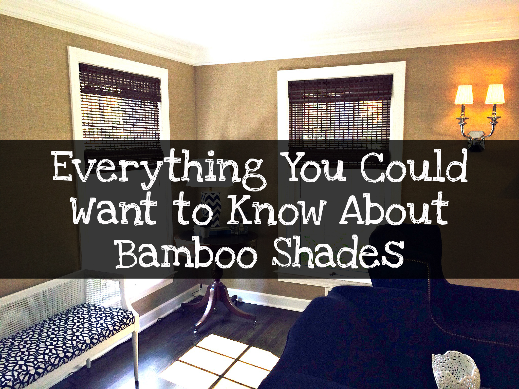 The Rundown on Bamboo Shades