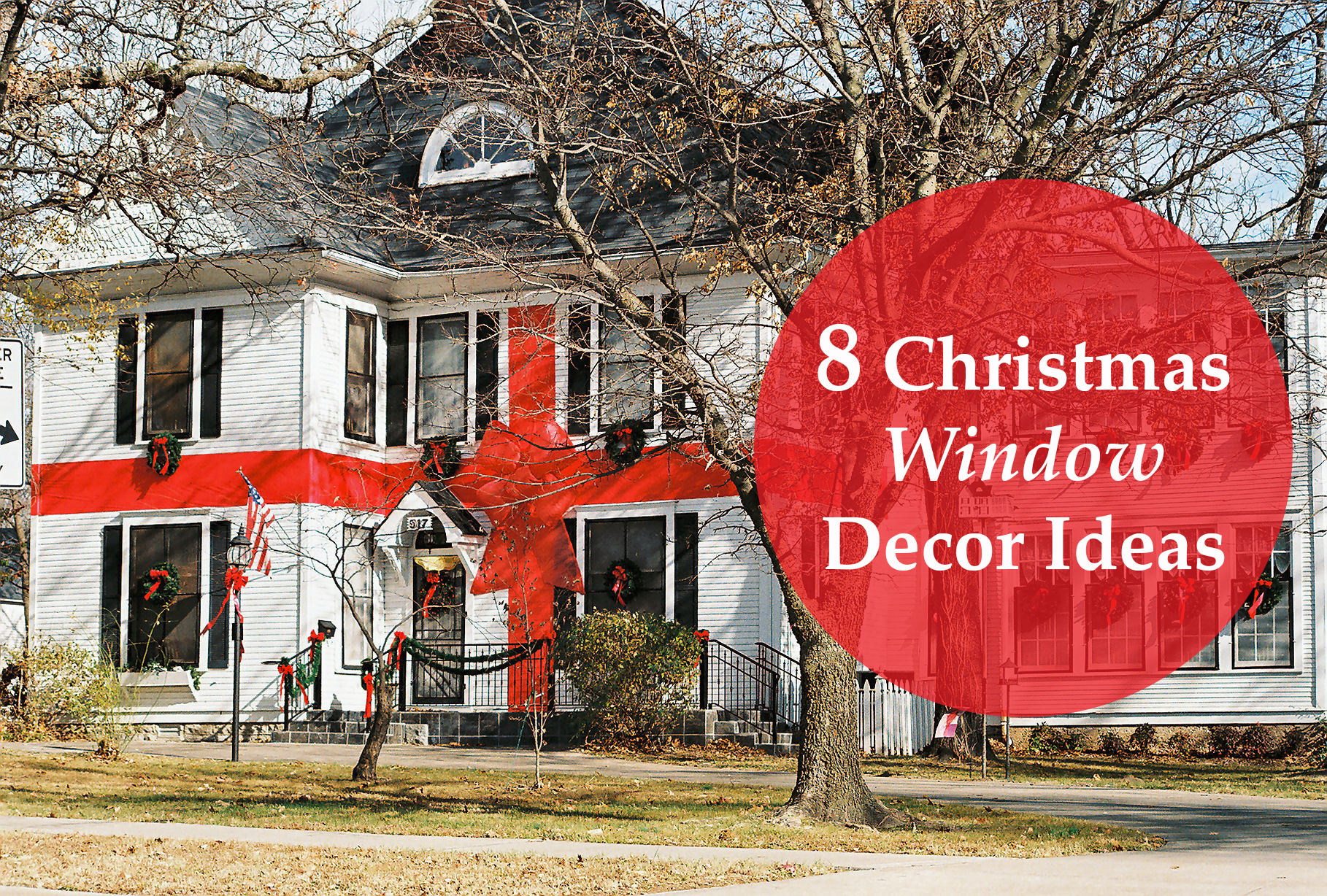 8 Christmas Window Décor Ideas