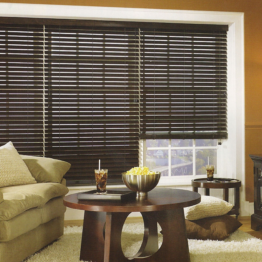 2 inch privacy wood blinds
