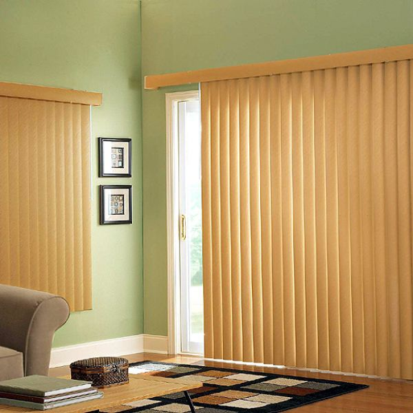 2 Inch Wood Vertical Blinds