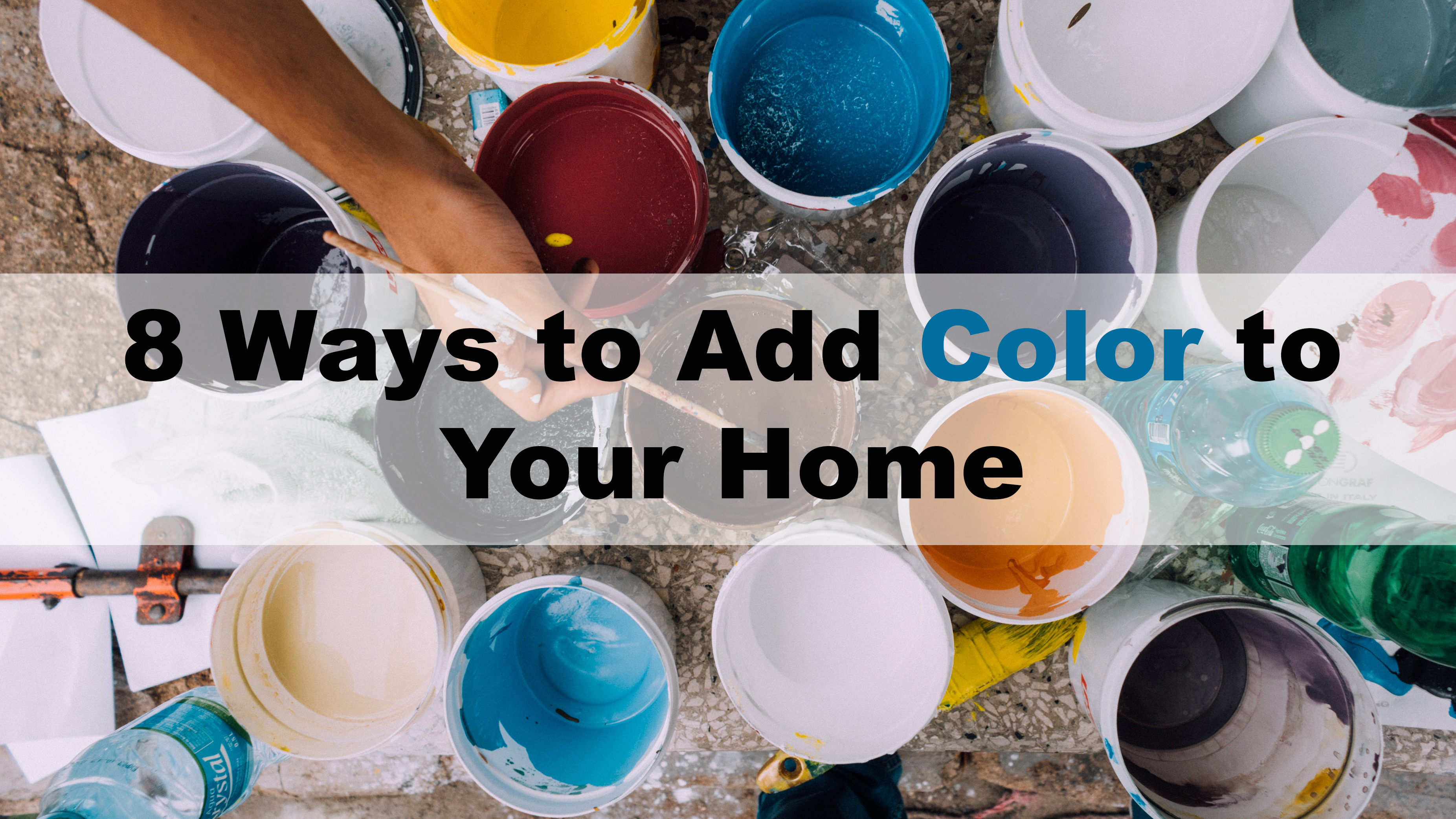 8 Ways to Add Color to Your Home