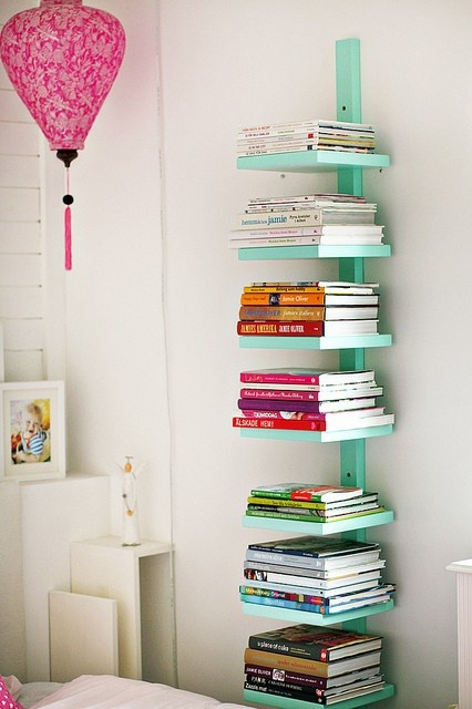 Floating Colorful books