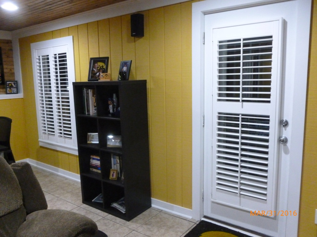 Fauxwood Plantation Shutters