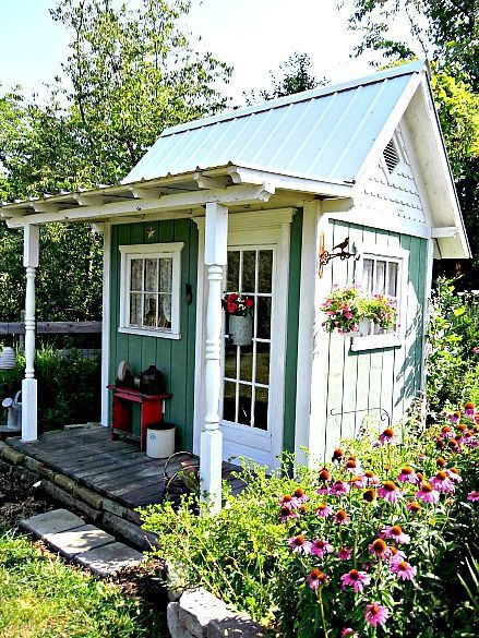 Beautify Your Tool Shed or Outdoor Storage Area