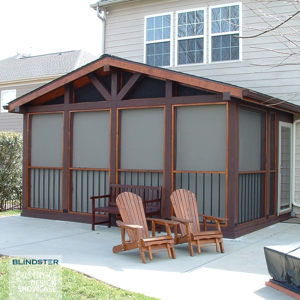 Install Outdoor Shades to Make Your Deck or Patio More Comfortable