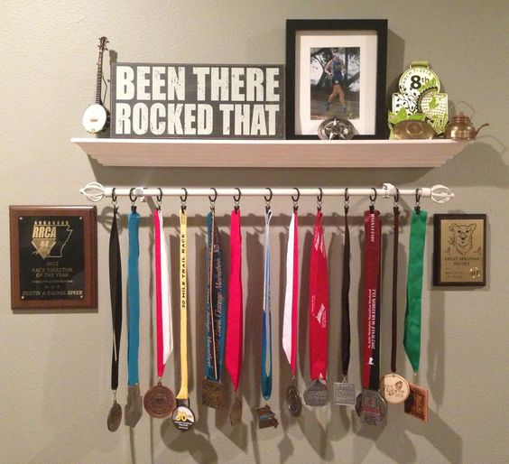 Create space to showcase your child's accomplishments