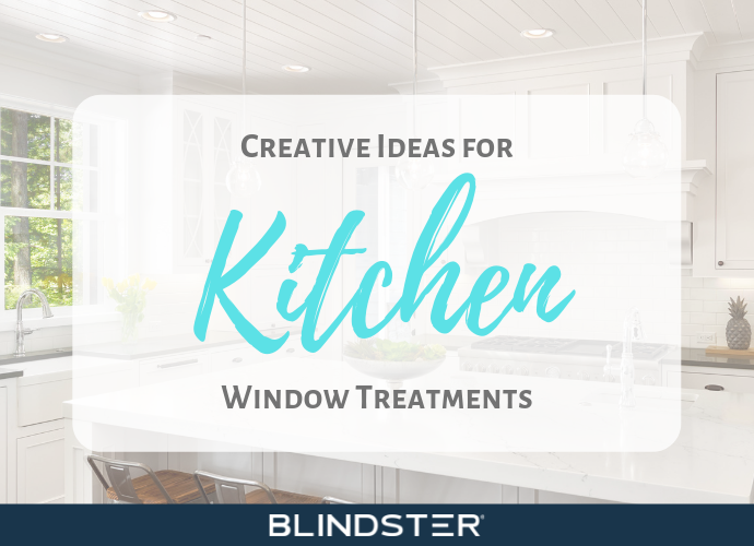 Creative Ideas for Kitchen Window Treatments