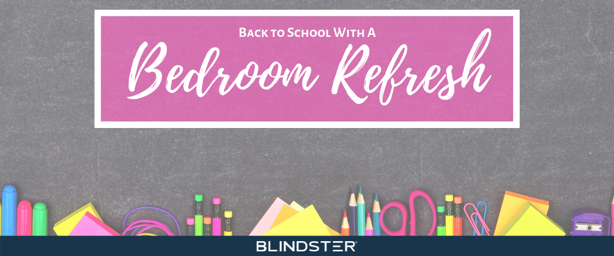 Back to School with A Bedroom Refresh